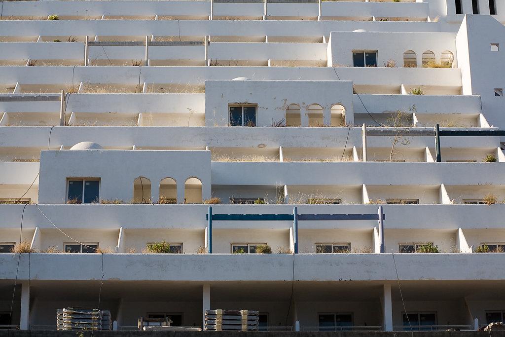 Hotel Illegal, Carboneras, Spanien 2009
