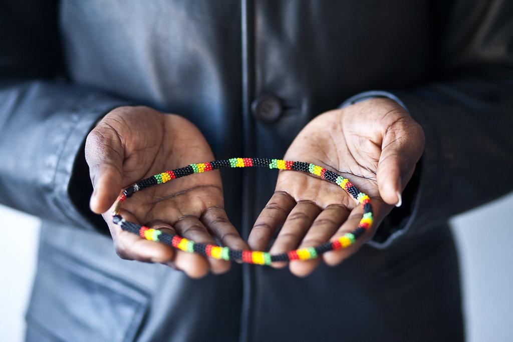Almamo, geflüchtet aus Gambia