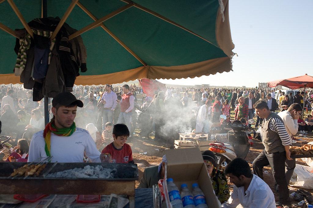 Newroz-Fest, Diyarbakir, Türkei 2010